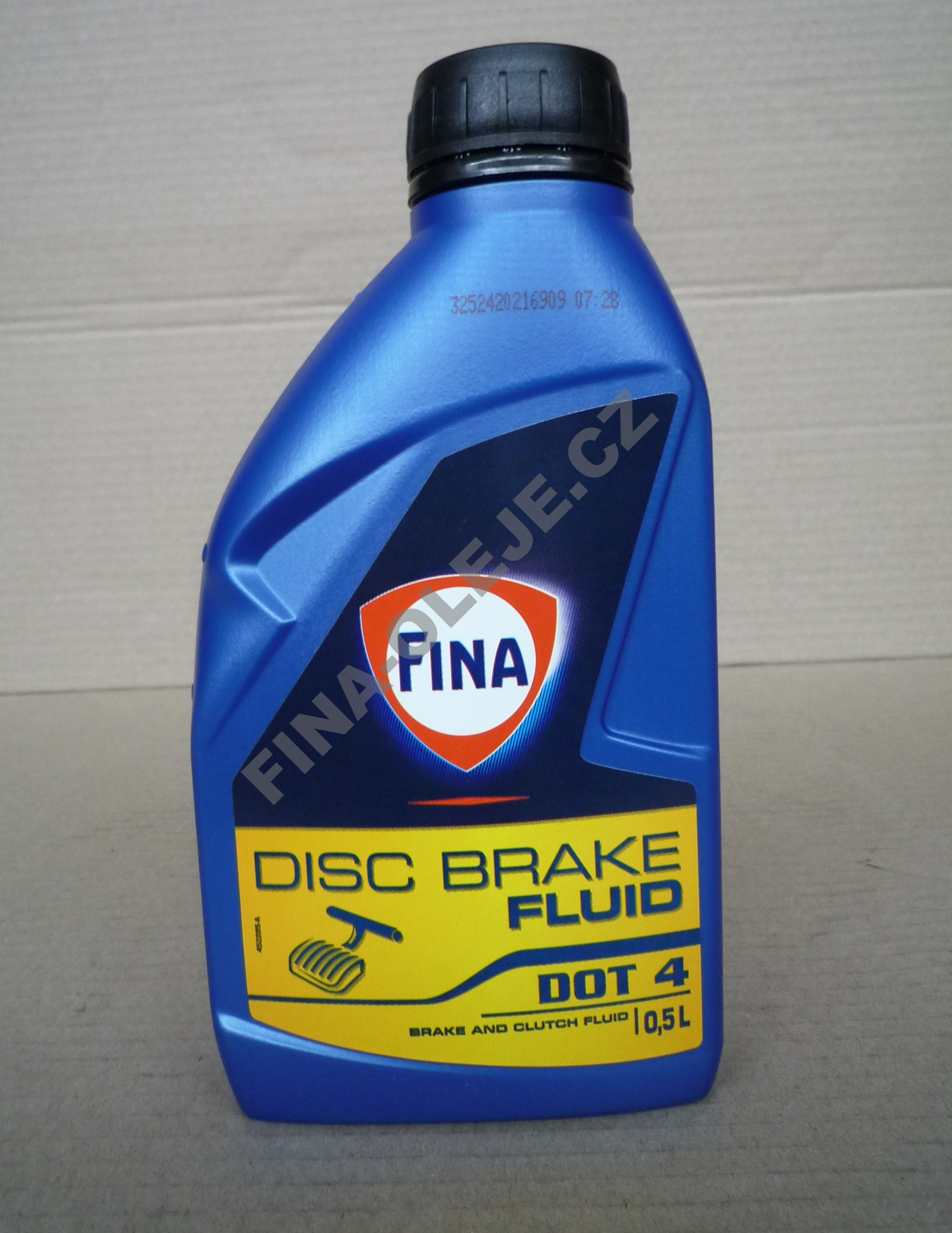 FINA DISC BRAKE FLUID DOT 4 - 1 l