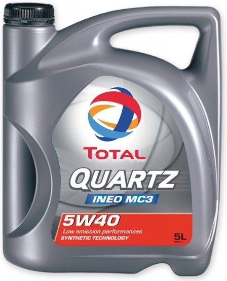 TOTAL QUARTZ INEO MC3 5W-40 - 5 L