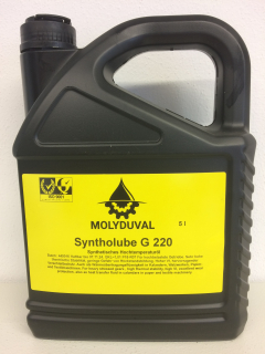 MOLYDUVAL Syntholube G 220 - 5 L
