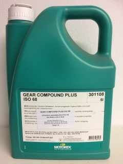 MOTOREX GEAR COMPOUND PLUS 68 - 5 L