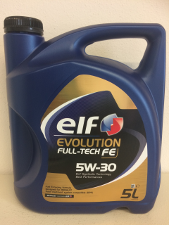 ELF EVOLUTION FULL-TECH FE 5W30 - 5L