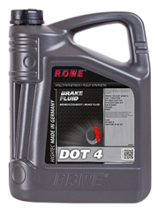 ROWE HIGHTEC BRAKE FLUID DOT 4 - 5 L