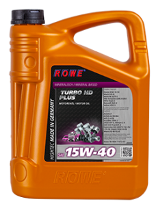 ROWE HIGHTEC TURBO HD 15W-40 Plus - 5 L
